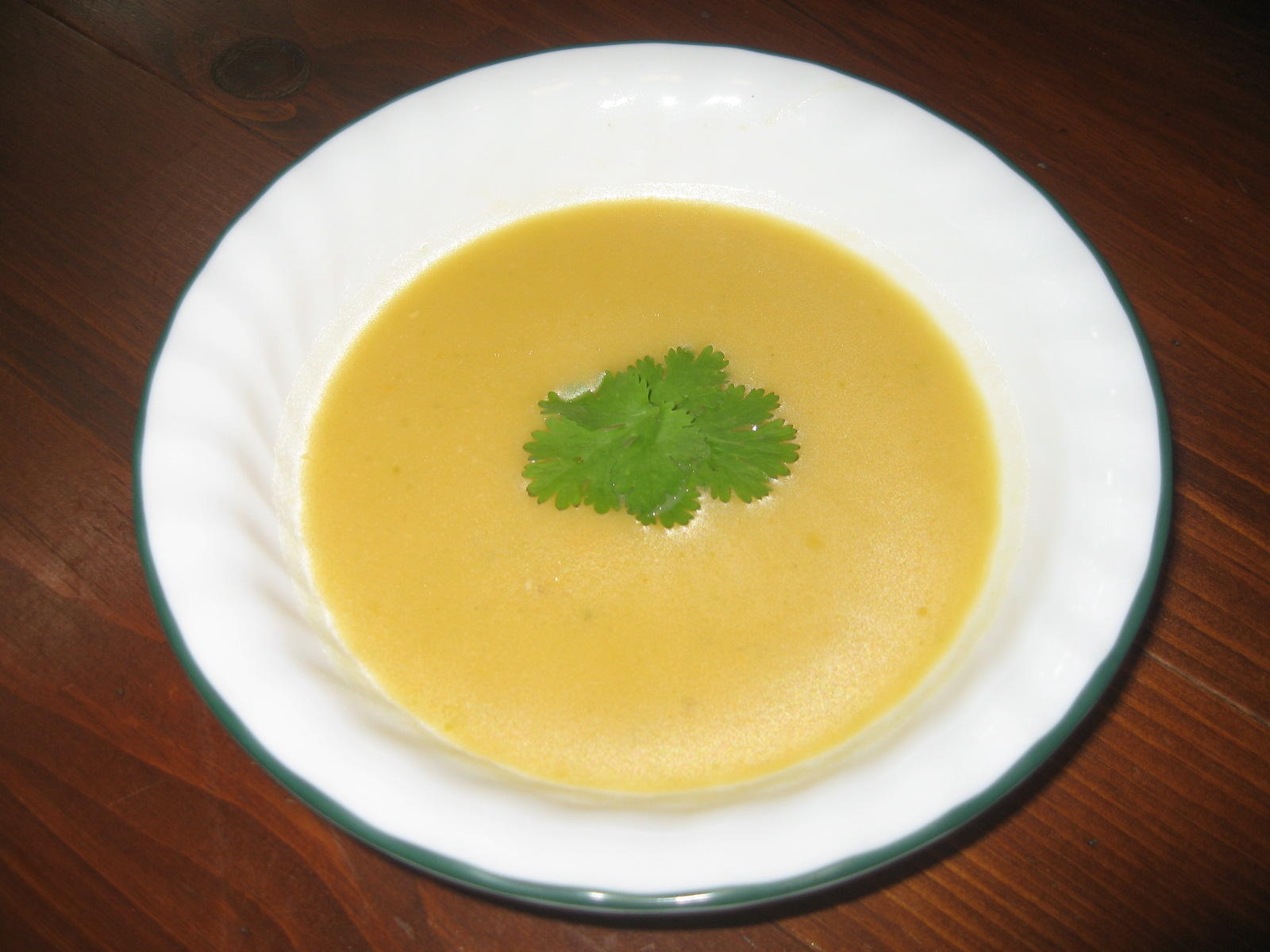 "Celery Soup Recipe With Fennel- Topped With Garlicky ""Rye ..."