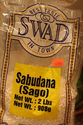 tapioca puffs or sago