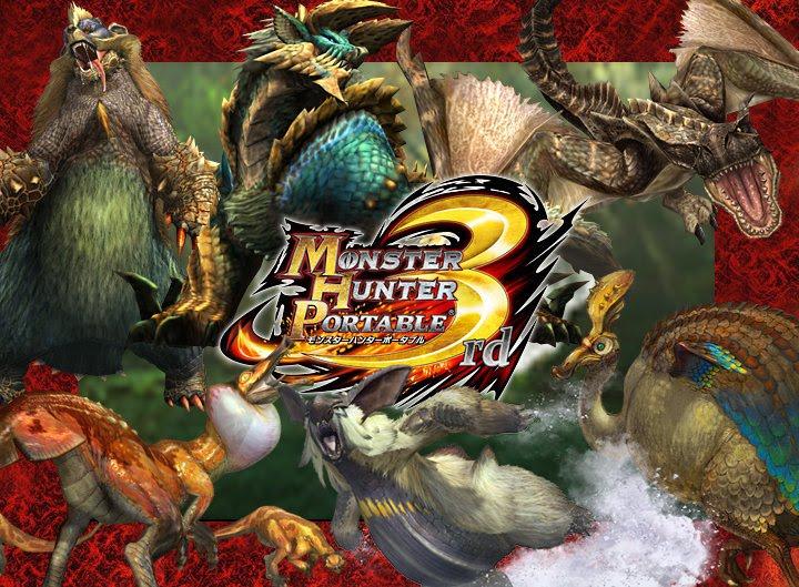 monster hunter 3 psp game