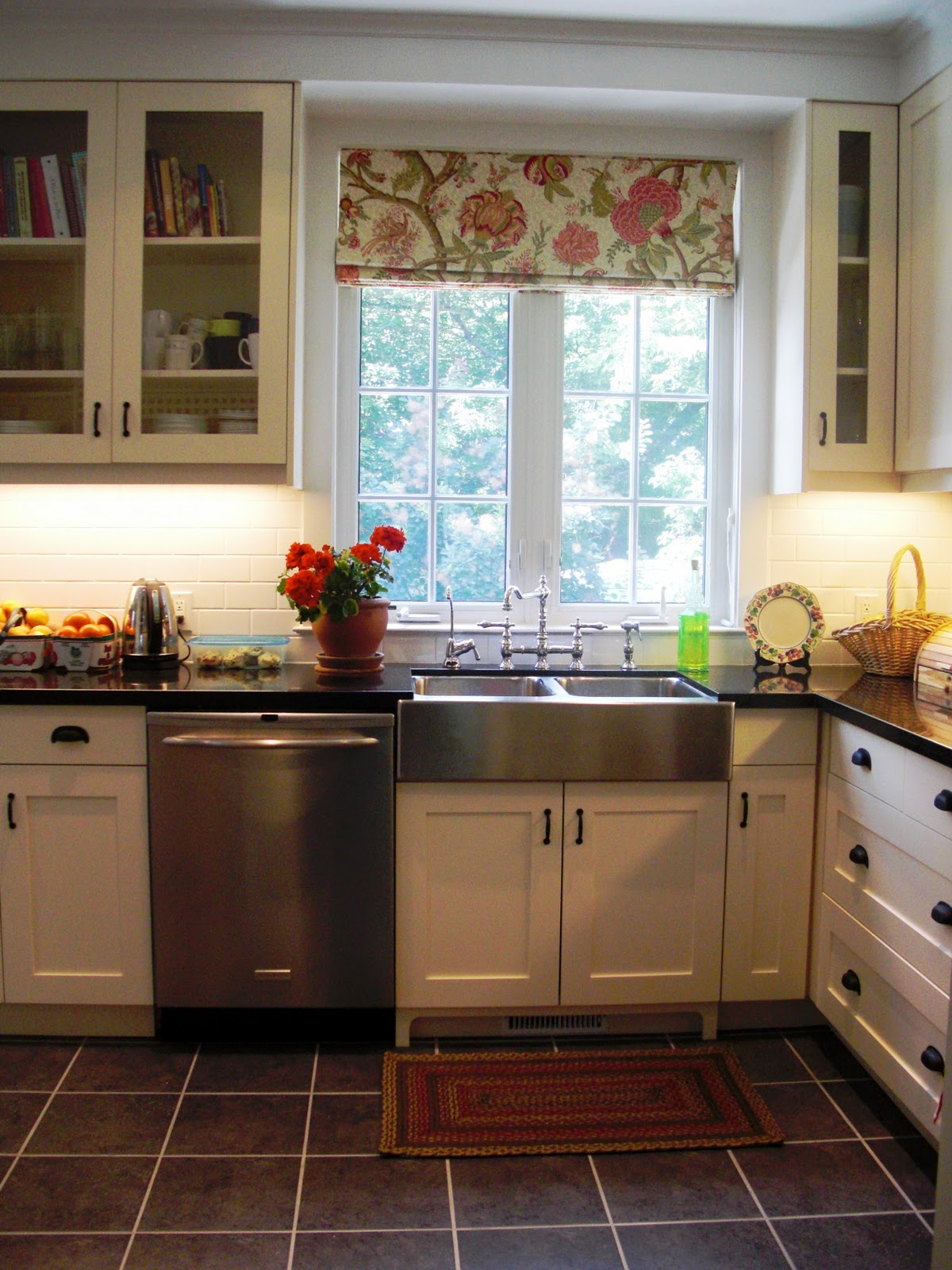 Sew and tella roman blinds for Kitchen shades and blinds