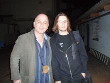 Con Steven Wilson en Bcn