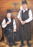 Račania v pivnici