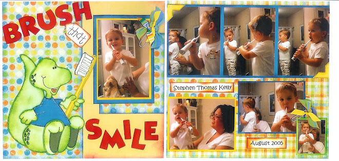 Brush that Smile - Designed by Diane Kelly