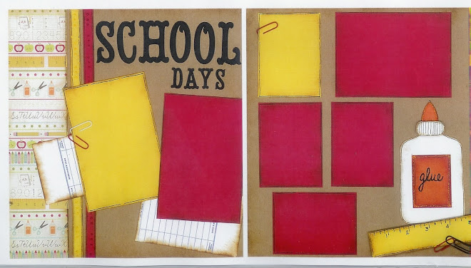 School Days (w/glue) - Designed by Diane Kelly