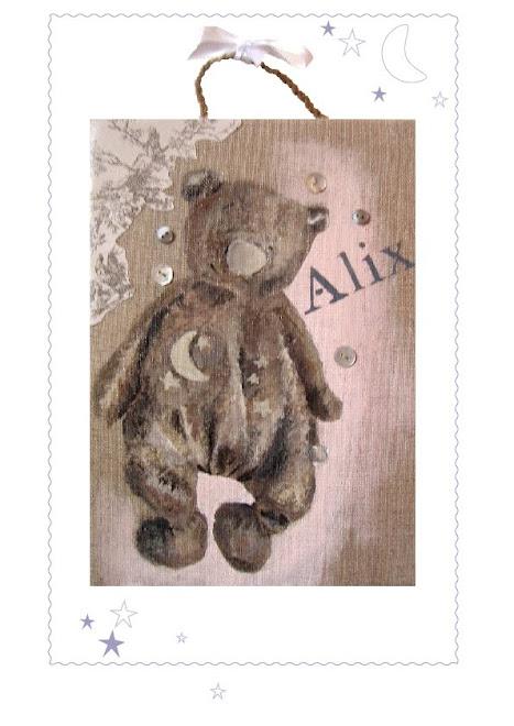 l'ours d'Alix