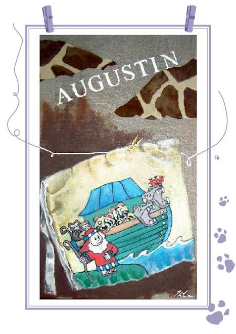 le petit livre tout doux d'Augustin