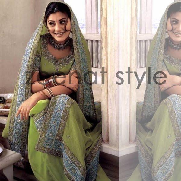 Rimi Sen In Bridal Embellished Salwar Kameez
