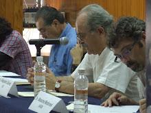 Ricardo Melgar Bao, Alejandro Gálvez y Massimo Modonesi