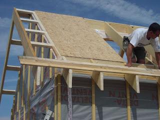 Crefab haute normandie novembre 2010 - Debord de toit ...