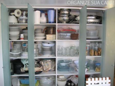 Organize sua casa organiza o de arm rio de cozinha e - Armarios para despensa ...