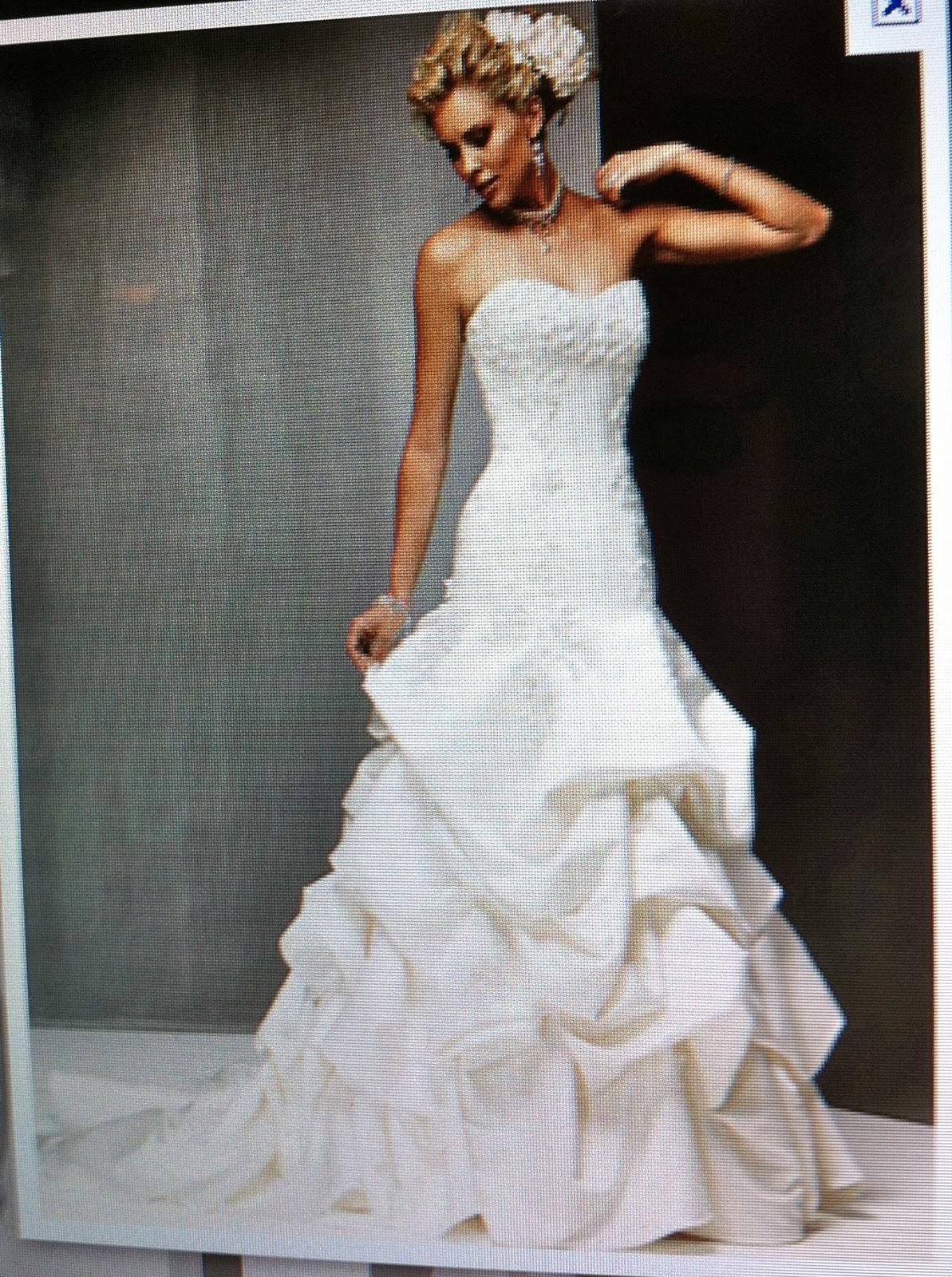 White wedding dress blue shoes Stevie s blog
