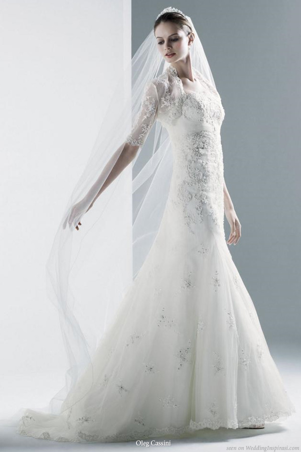 Fashionista oleg cassini wedding gowns for Wedding dress designer oleg cassini