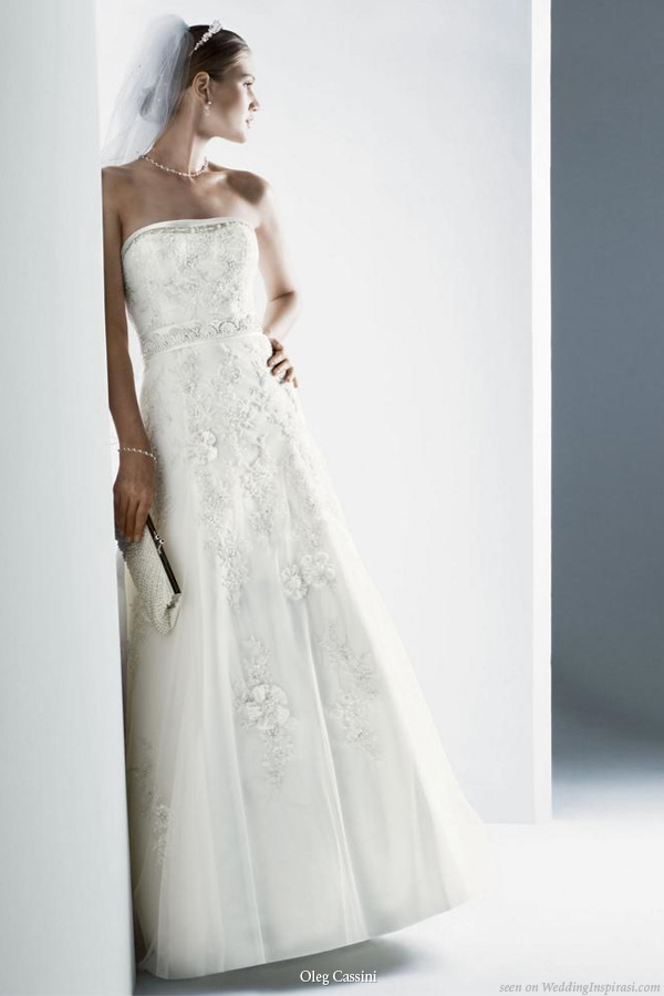 fashionista oleg cassini wedding gowns