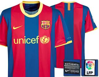 Barcelona new jersey