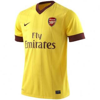Arsenal new away kit