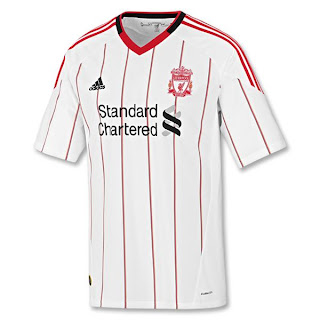 Liverpool new away jersey