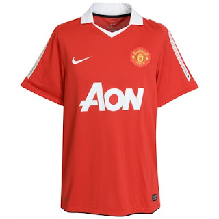 Manchester United New Jersey AON 2010/2011