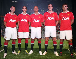 Manchester United New Home Jersey