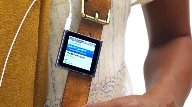 Escena del nuevo anuncio del iPod Nano