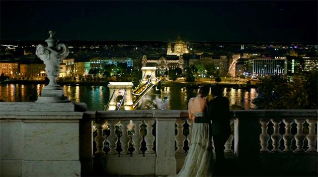 Vista de Budapest en el anuncio de Anna de Cordoníu Navidad 2010