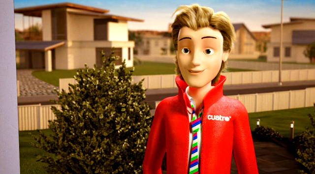 Imagen de la Promo Fusión Telecinco y Cuatro La familia crece