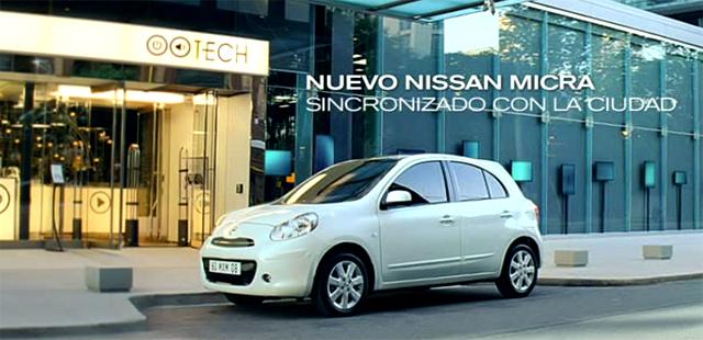 Nissan Micra en el anuncio Nissan Micra