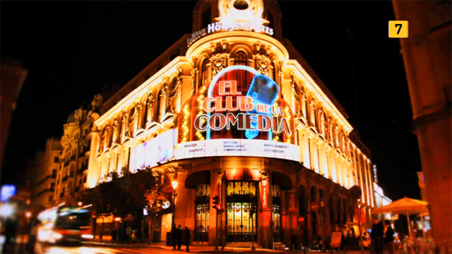 Imagen de la  Promo La Sexta El Club de la Comedia y Salvados 1ª Semana Febrero 2011
