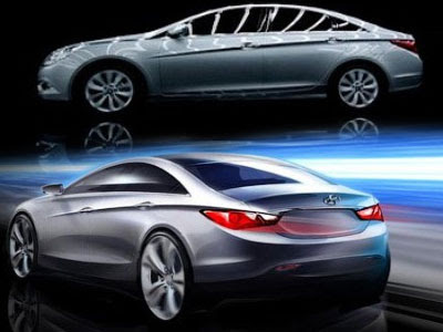 Hyundai  Photo on 2010 Hyundai Sonata I40 Electric Hybrid Concept Car   Sport Cars And