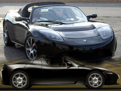 Tesla Roadster Electric Sports Car by Tesla Motors