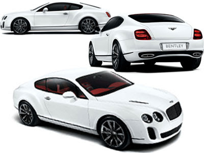 Bentley Continental Supersports Car Gallery
