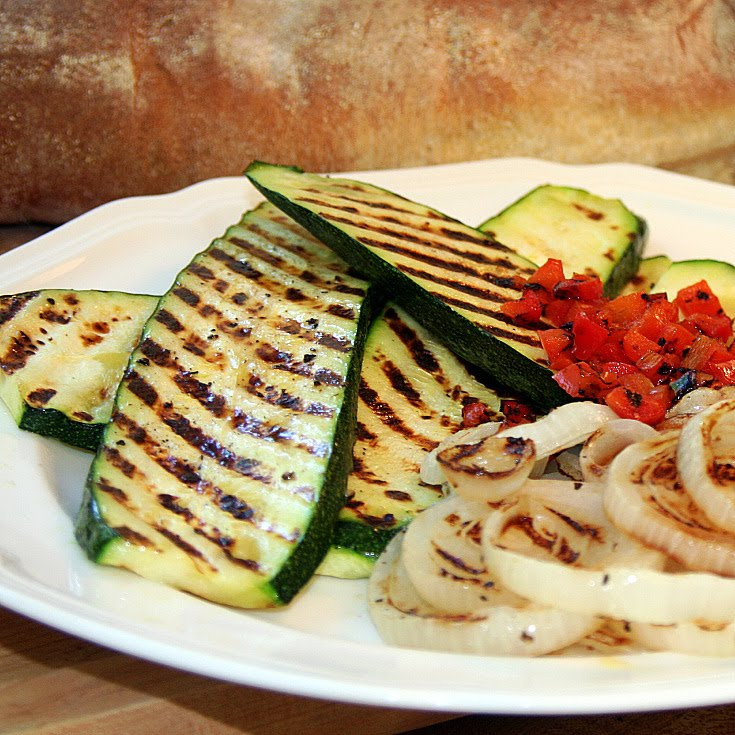 With a Grateful Prayer and a Thankful Heart: Grilled Vegetable Panini