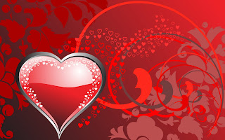 Red Full of Love Wallpaper