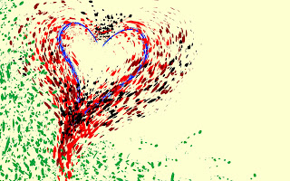 Heart Painting Love Wallpaper