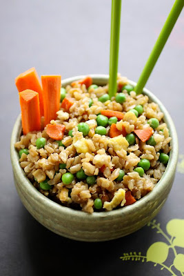 how to make brown rice more fluffy