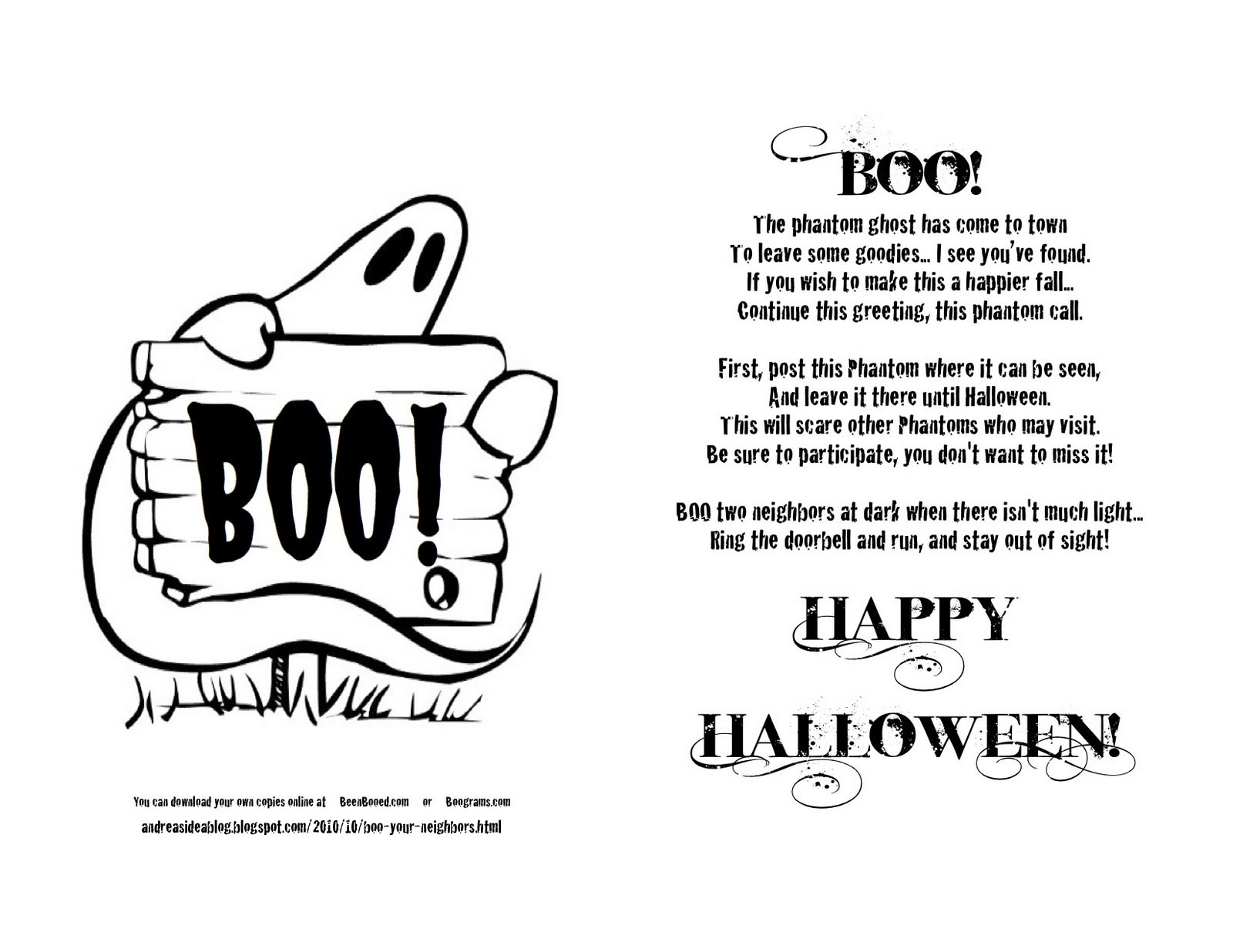 Fan image inside boo grams printable