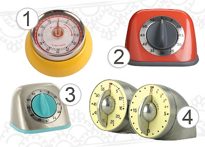 searching for the perfect kitchen timer Little Paper Dog