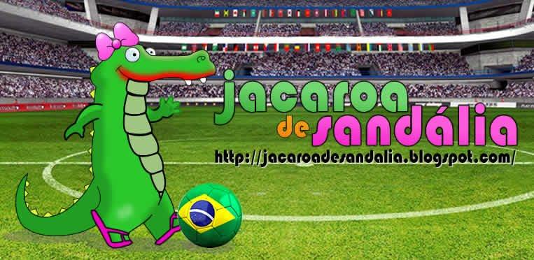 JACAROA DE SANDÁLIA