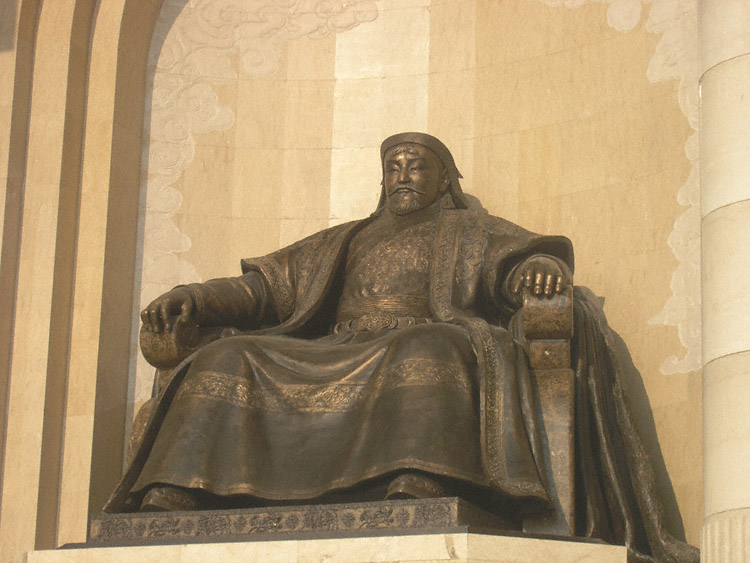 a biography of genghis khan a historic figure Biography of genghis khan genghis khan in his younger years genghis khan seemed to be quite a substantial and influential figure of mongolian history.