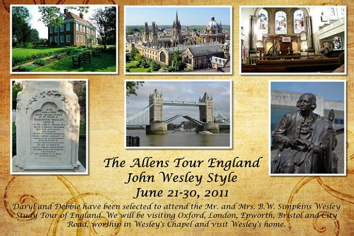 The Allens Tour England (John Wesley Style)