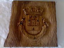 Brasão de Marvão em madeira