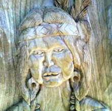 India em madeira