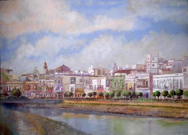 Ayamonte, oleo sobre lienzo 125 x 100 cm