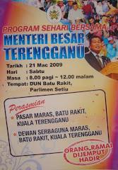 Program Sehari Bersama Menteri Besar Terengganu