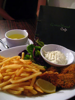Fish & Chips @ GreenWood Cafe, SS2