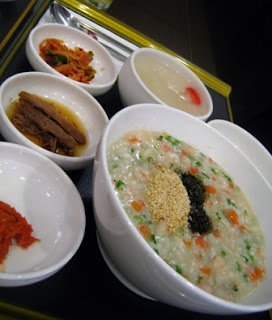 Korean Shrimp Porridge @ Bonjuk, Hartamas