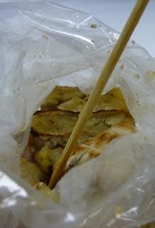 Gluay Ping / Grilled Banana @ Bangkok Street Food