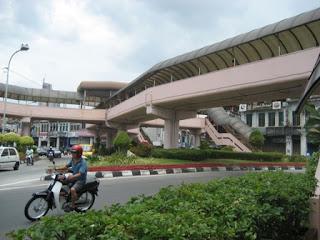 Bridge to Komtar @ Penang