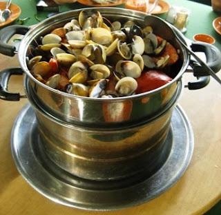 Steamed Seafood @ Bukit Tinggi BBQ, Bentong, Pahang