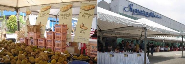 Durian Fest @ Signature Kitchen, Malaysia