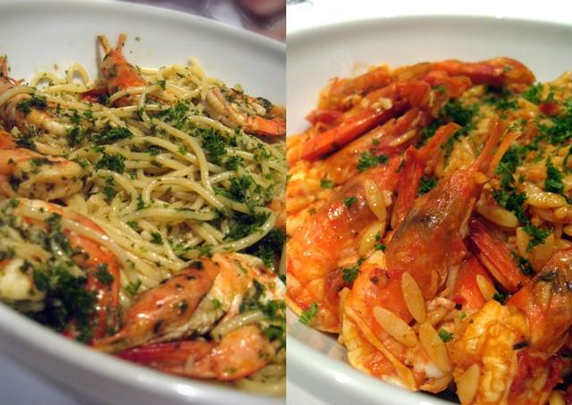 Spaghetti Ala Buzara & Prawn Orzo @ Dubrovnik, Mont Kiara, KL